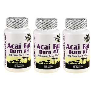 Acai Fat Burn 3 Green Tea Fat Burner