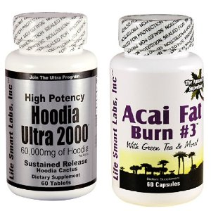 Combo Acai Fat Burn 3 Hoodia Green Tea Fat Burner